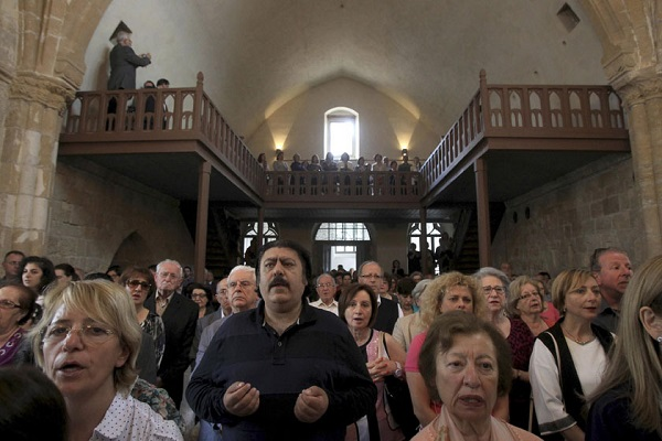 First Service in 50 Years Held in Turkish-Occupied Armenian Church of Nicosia