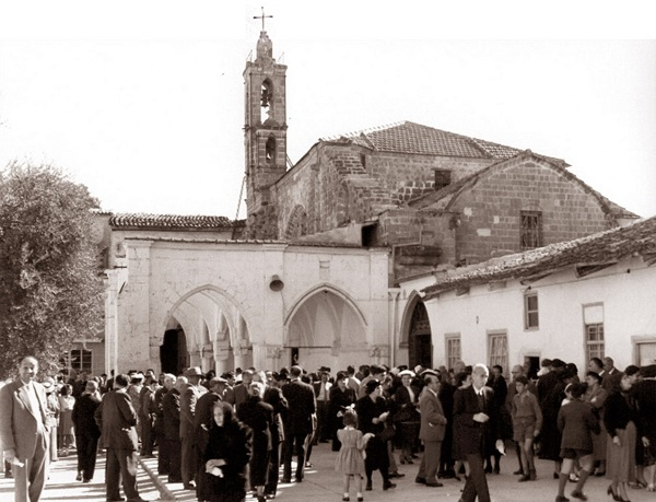 The Virgin Mary Church in 1963.