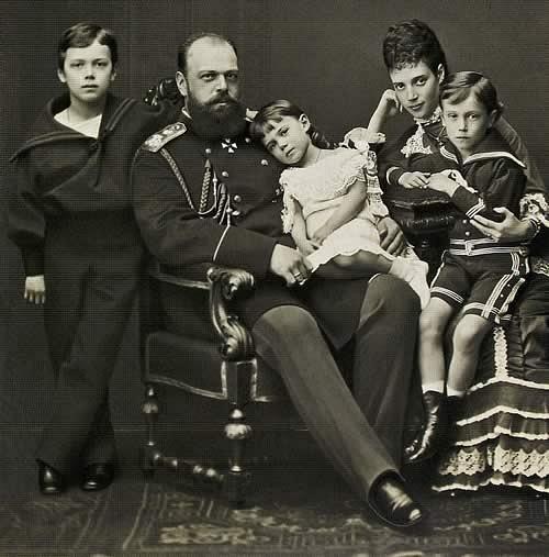 Nicholas and George, 1877