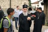 Serbian Patriarch Irinej in Krupanj