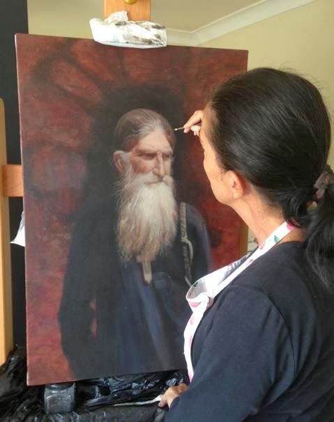 Greek Church hosts art by Lee Zaunders-Maroulis
