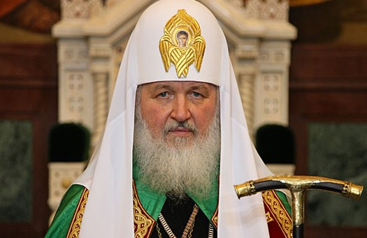 Primate of the Russian Orthodox Church conducts litiya for His Beatitude Metropolitan Vladimir of Kiev