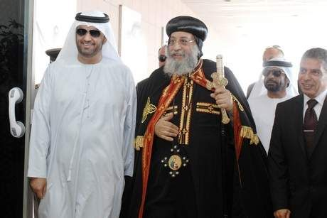 Coptic Church Pope arrives in the UAE on five-day visit