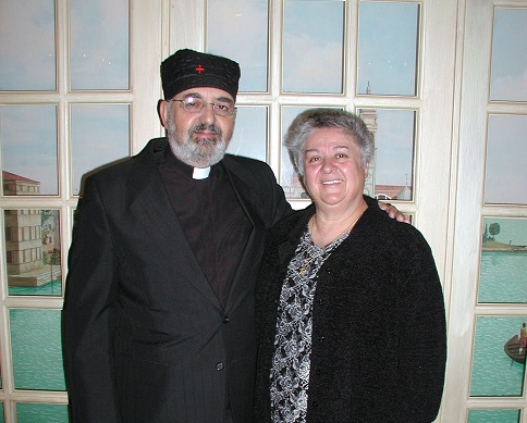 The late Rev. Anastasios and Presvitera Maria Diakovasilis