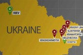 Mine exploded near a church in Slavyansk, Ukraine, woman killed