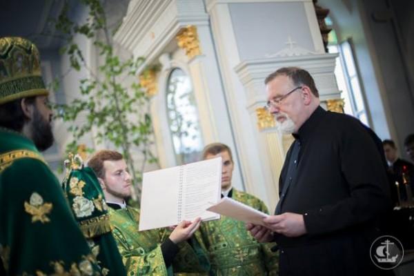Catholic Priest Constantine Simon Converts to Orthodoxy
