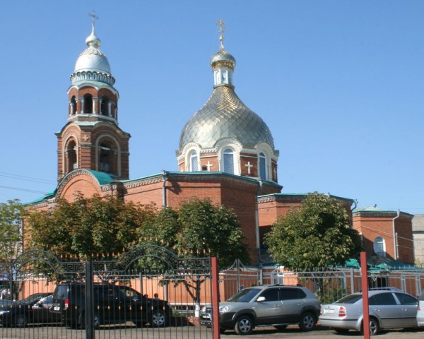 Slavyansk cathedral was shelled during the Liturgy