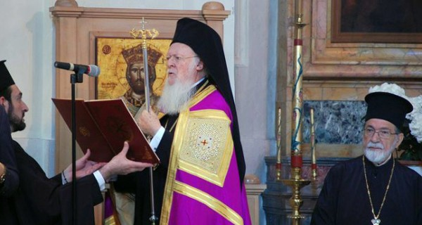 Orthodox Patriarch hails changing Turkey in mass