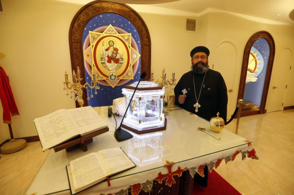 Coptic church prepares for pope's visit