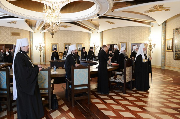 Patriarch Kirill chairs a regular session of the supreme Church council