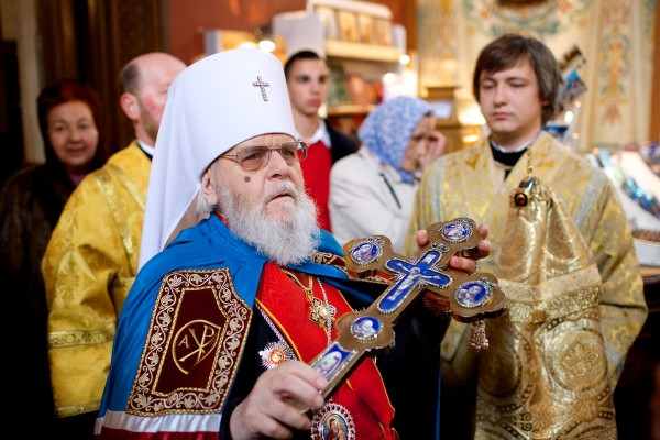 Metropolitan Cornelius' 90th birthday is celebrated in Tallinn