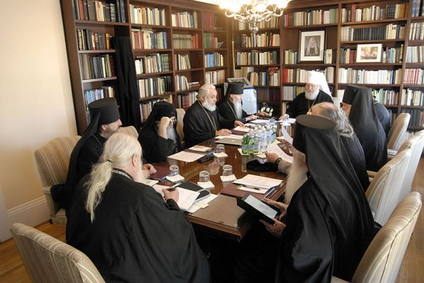 The Headquarters of the Western American Diocese Hosts a Regular Session of the Council of Bishops