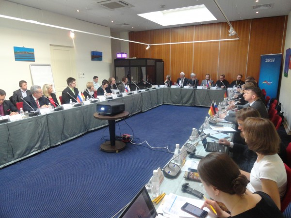 The Churches in Europe working group of the St. Petersburg Dialogue of civil societies in Russia and German meet in St. Petersburg