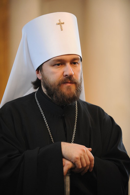 Metropolitan Hilarion: The hard time of military conflicts makes ever more urgent our common task to search for Christians ways for stopping war