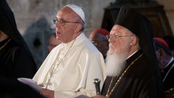Bartholomew: Christians united, real catalysts for peace in the Middle East