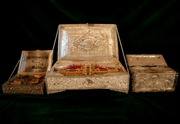 Sacred Objects from the Serbian Monastery of Chilandar on Mount Athos Have Arrived in St. Petersburg