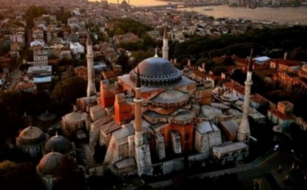 Erdogan Answers to Muslims on Hagia Sophia