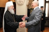 Serbian Orthodox Church awards Lukashenko St Sava medal