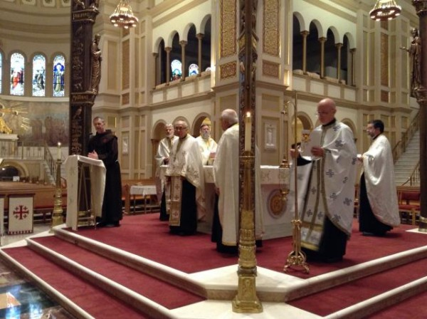 D.C. Area Clergy Offer Vespers in Support of Suffering Middle East Christians