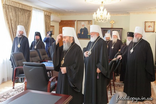 Regular session of the Ukrainian Orthodox Church's Synod takes place in Kiev