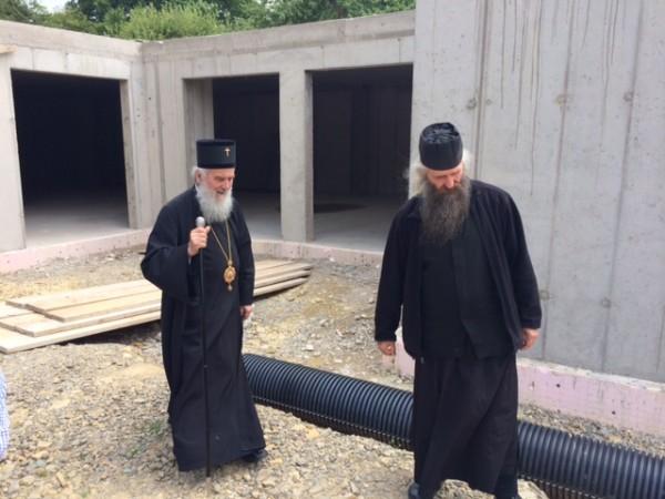 Serbian Patriarch Irinej in Eiterfeld