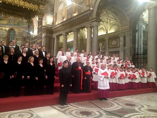 Synodal Choir gives concert in the Sistine Chapel in Vatican