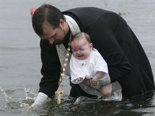 Baptizing Unenthusiastic Children