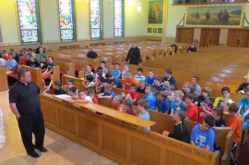 'Future priests' gather for spiritual retreat