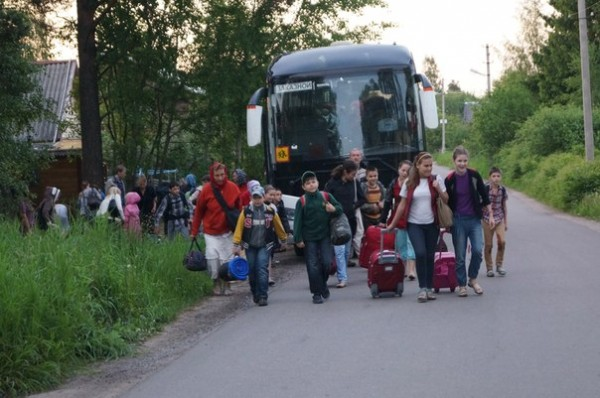 The St. Basil the Great Foundation Has Organized the Transfer of Ukrainian Refugees to Vladimir