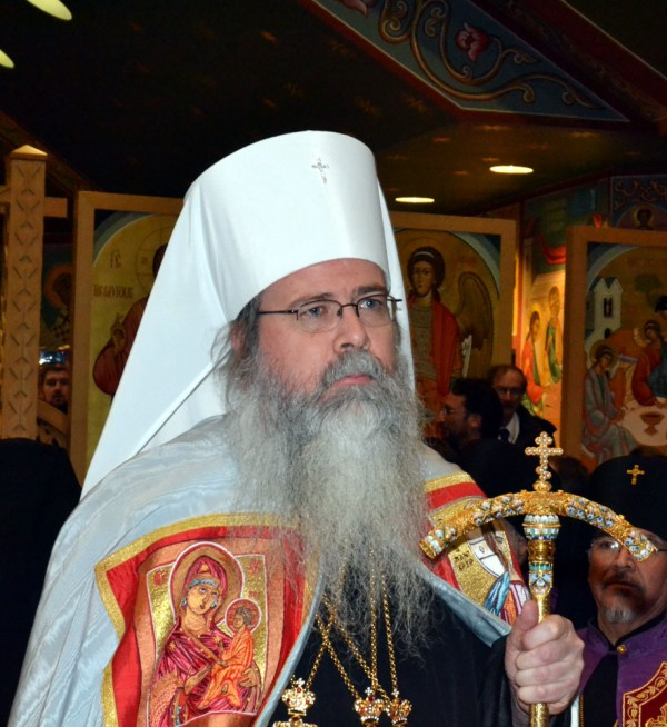Metropolitan Tikhon sent a message of condolence to Patriarch Kirill upon repose of Metropolitan Volodymyr