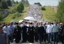 Patriarch Kirill Led a Procession from Khotkovo to Sergiev Posad