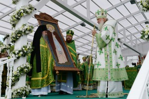 Patriarch Kirill: St. Sergius is the…