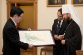 DECR chairman meets with delegation of China's State Administration for Religious Affairs