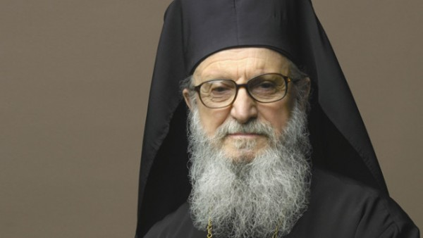 "Archbishop Demetrios of America Receives the High Title of ""Geron"""