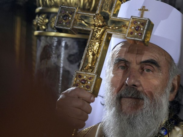 Patriarch Irenaeus of Serbia thanks Patriarch Kirill for aid to victims of flood in Balkans
