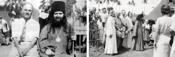 Saint John and the Russian Refugees at Tubabao