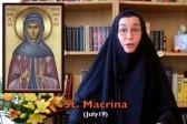 Coffee with Sr. Vassa: St.Macrina and the Rewards of Solitude