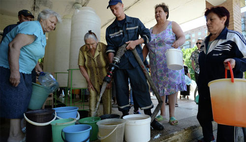Diving Into The Stone Age: Slaviansk As Seen By An Eyewitness