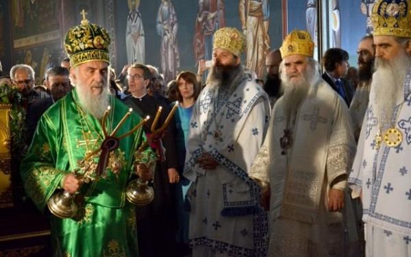 Bishop Andrej of Austria-Switzerland enthroned