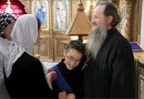 Monks of the Valaam Monastery Shelter 116 Refugees from Eastern Ukraine in Valaam Metochion