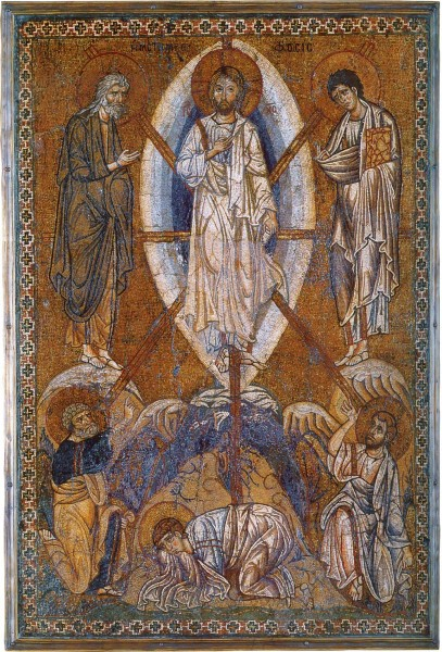 Mosaic icon. Byzantine. First half of the twelfth century. Louvre, France.