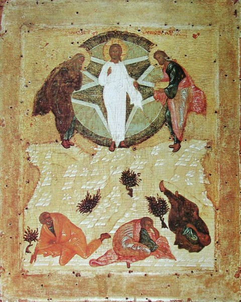 Icon by a follower of Andrei Rublev. 1425. Moscow.