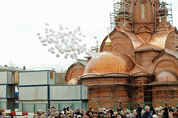 Twice as many churches to be built in Moscow in frames of Program 200