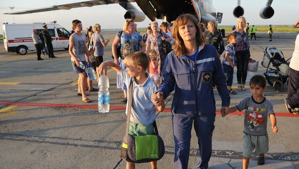 Almost 50,000 Ukrainian Refugees Sheltered in Russian Temporary Accommodation