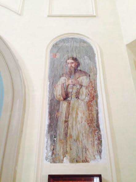 Frescoes discovered at Moscow's St. Catherine Representation Church