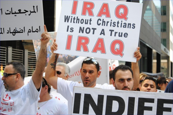 3,000 Assyrians March in Toronto to Protest ISIS Atrocities