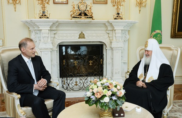 Patriarch Kirill receives Ambassador of Poland to Russia