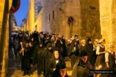 Night-Time Procession with the Shroud of the Mother of God in Jerusalem – Photo-report