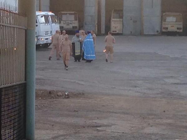 Clerics bless humanitarian aid sent to Ukraine