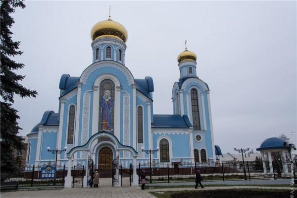 Lugansk church comes under artillery strike